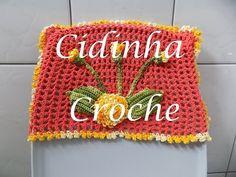 Croche- Jg Banheiro Retangular- Parte Interna- Passo A Passo- Parte 2/2 - YouTube