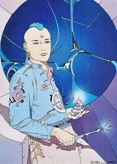 Moebius was a most prolific and imaginative French catoonist.