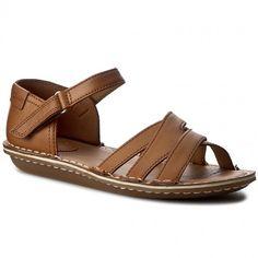 c2a386080acb1 Sandale CLARKS - Tustin Sahara 261156484 Tan Leather