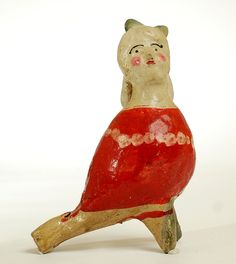 Vintage Mexican Ceramic Whistle |