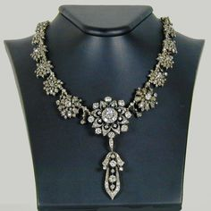 From the jewelers Hancock and Co, a gorgeous diamond floral tiara/necklace combination by Bolin, an historic jeweler of both Sweden and Russia Courts, who is sadly about to close.