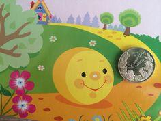 50 Тенге. Баурсак ( Колобок). Вот такие монеты со сказками выпущены в республике Казахстан #монеты #монетыказахстана # коллекционныемонеты # коллекция # хобби