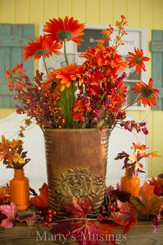 Hometalk :: Thrifty Fall Decorating Ideas and Home Tour