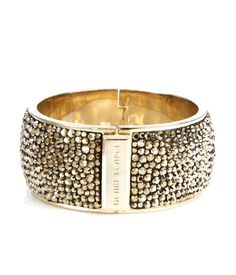 Bendel Rocks Wide Bangle- This is going on my wish list stat!! I HAVE to have it!!! #HENRIBENDEL