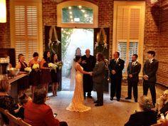 Wedding at Bienville Social, Galveston. Chopin Mon Ami Catering Galveston, TX