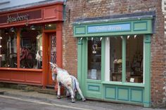Shop Front of Pretty Scruffy in West Sussex