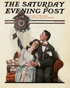 """""""Couple Courting at Midnight,"""" March 22, 1919"""