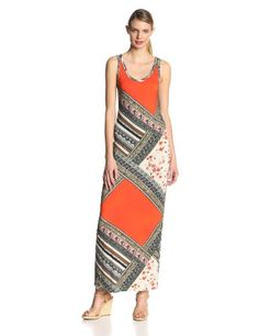 VELVET BY GRAHAM & SPENCER Women's Scarf Print Tank Maxi Dress. VELVET BY GRAHAM & SPENCER Women's Scarf Print Tank Maxi Dress, Multi, X-Large. Our maxi dresses are a staple for the spring and summer season. Lily aldridge for velvet, spring 2014 collection.