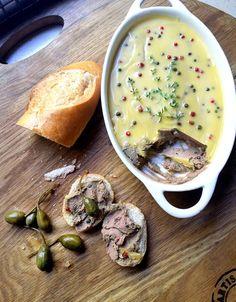 Low-Carb Silken Chicken-Liver Pâté with Green Peppercorns | Scrumptious South Africa #LCHF