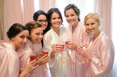 BRIDESMAID ROBES  Handmade to Order  Reserved Listing by MaySilk, $311.00