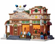 Lemax Village Collection Daisy's Ceramics Studio # 15228 | L15228 | 728162152282