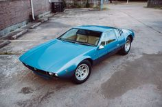 Prepare to Drool Over This Stunning 1969 De Tomaso Mangusta | Airows