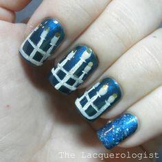 The Lacquerologist: Holiday Nail Art: Happy Hanukkah!