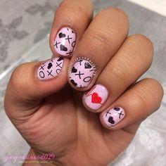 VALENTINE by jaynedavid029 #nail #nails #nailart