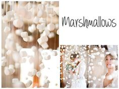 One word: Marshmallows...DIY photography backdrops