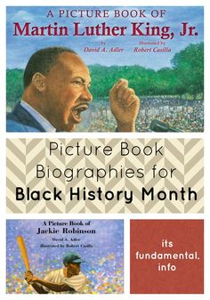February is Black History Month, and today I am highlighting some wonderful picture books. I chose a mixture of biographical picture books and picture books about ordinary kids who happen to be black. Because our children are making a piece of history every day.