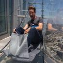 Skyslide: inauguran un tobogán de vidrio a 300 metros de altura - LA NACION (Argentina)  LA NACION (Argentina) Skyslide: inauguran un tobogán de vidrio a 300 metros de altura LA NACION (Argentina) Un tobogán en el piso 70 de la torre del U.S. Bank, Los Angeles, California. Foto: Reuters / Lucy Nicholson. Foto 1 de 8. 0. El emblemático edificio U.S. Bank Tower de la ciudad…