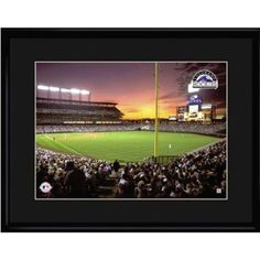 Colorado Rockies MLB Coors Field Limited Edition Lithograph