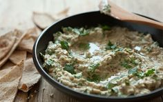 Baba Ghanouj (baba ghanoush) with low fat yogurt and low in added oil | Whole Foods Market