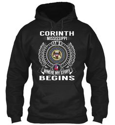 Corinth, Mississippi - My Story Begins