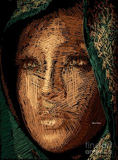 Studio Portrait In Pencil 54 Digital Art by Rafael Salazar