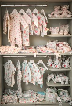 Cath Kidston baby clothes and gifts Cath Kidston Baby Clothes, Baby Store Display, Baby Boutique Clothing, Kids Boutique, Clothing Store Design, Storing Baby Clothes, Kids Store, Kids Corner, Girl Nursery