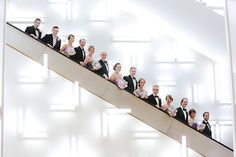 The IMA has some very fun photo op locations including their escalators! Art Catering, Indianapolis Museum, Wedding Prep, Hair Designs, Videography, Art Museum, Wedding Venues, Reception, Fine Art