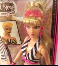 Barbie Now and Then doll