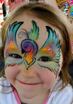 art face painting pretty makeup fantasy - maquillaje fantasia pintacaritas ♛
