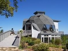 Located across the river from Red Wing, MN This gorgeous Natural Spaces Dome is situated on top of a high hill overlooking the rolling, wooded Wisconsin countryside with a view of Lake Pepin in the distance.