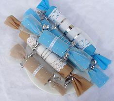 recycler le rouleau de papier toilette, jolis bonbons de fête