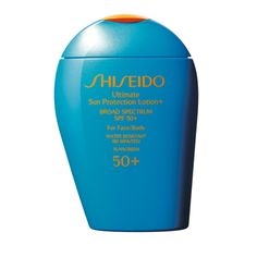 Ultimate Sun Protection Lotion+ SPF50+, for ultimate protection on the beach and by the pool.