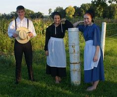 Amish youngsters