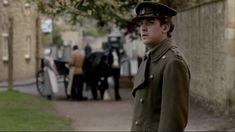 Matthew Crawley in Greatcoat