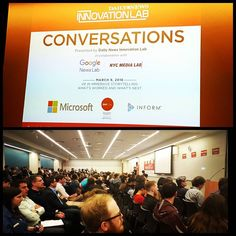 "An awesome Virtual Reality pic! ""VR in Immercive Storytelling"" #NYDNLAB with @mitetyana via  @dailynewslab #marketing #storytelling #journalism #socialmedia #event #VRvideo #virtualreality #VR360 #cardboard #Google @google #digitalmarketing #contentmarketing #innovation #tech #microsoft @Microsoft #DailyNews #TimesSquare #newyork #nyc #media #socialmedia #instadaily by kseniantn check us out: http://bit.ly/1KyLetq"