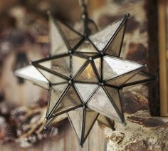 Olivia Star Pendant- Moravian star lights- I love them- going to work them into this renovation somewhere- either as pendants over the bar, or a larger version over the breakfast table