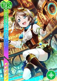 School Idol Tomodachi - Cards Album: Watanabe You