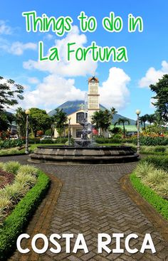 Top 11 things to do in La Fortuna and Arenal http://mytanfeet.com/activities/things-to-do-in-la-fortuna-and-arenal/