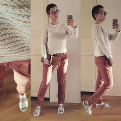 #look #lookbook #currentlywearing #pullover #laredoute #chinos #esprit #sandals #bronx #clutch #clairev #style #streetstyle #fashion #styleiswhat #me #lookoftheday #outfitpost #ootd