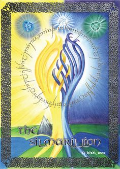 Telperion and Laurelin, of the beginning of Middle Earth