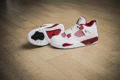 "***RELEASE REMINDER*** The Nike Air Jordan IV Retro ""Alternate 89"" will be available at our shop tomorrow!  Release: 5.1.2015 