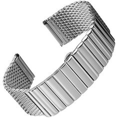 Milanese Mesh Butterfly Clasp Stainless Steel Watch Band Polished 22mm ** Be sure to check out this awesome product.