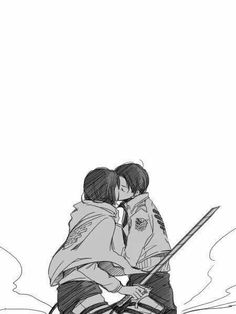 Image uploaded by levi ackerman. Find images and videos about attack on titan, snk and levi x mikasa on We Heart It - the app to get lost in what you love. Armin, Levi Mikasa, Zelda Anime, Anime One, Attack On Titan Ships, Attack On Titan Anime, Levi Ackerman, Otp, Levi X Petra