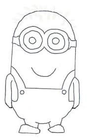 graphic relating to Minion Template Printable known as 26 Great MINION TEMPLATE illustrations or photos within just 2017 Minion template