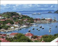 Gustavia, St. Bart's Island. This is the view from our villa.  All 10 days were perfect.