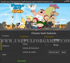 The best Family Guy The Quest For stuff hack is here http://usefulforgames.com/family-guy-the-quest-for-stuff-hack !
