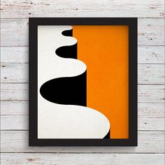 Orange Abstract Landscape Art Large Wall Art Orange Minimalist Wall Art Abstract Poster for Office Art on Canvas Minimalist Wall Design Abstract Geometric Art, Abstract Landscape, Abstract Digital Art, Landscape Design, Kunst Poster, Diy Canvas Art, Large Wall Art, American Art, Art Auction