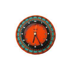 70s Flower Power wall clock from Kienzle by ZeitepochenShop, €119.00