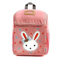 Your Gallery Babys Cute Kawaii Rabbit Cotton Backpack Kindergarten School Bag Pink -- Check out the image by visiting the link.