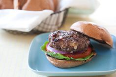 Grilled Pork Burgers with Savory Pickled Peaches | Whole Foods Market